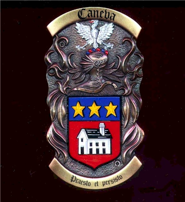 The Caneva Family Crest